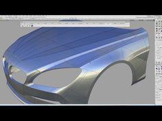 BMW modeling in Autodesk Alias: Tutorial Completed Car Design Sketch, 3d Design, Design Model, Auto Design, Mechanical Design, Mechanical Engineering, Surface Modeling, 3d Modeling, 3d Mesh
