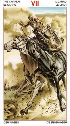 VII. The Chariot - Initiatory Tarot of the Golden Dawn by Giordano Berti, Patrizio Evangelisti