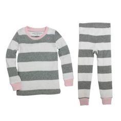 Baby Girl Burt's Bees Baby Organic Print Pajama Set