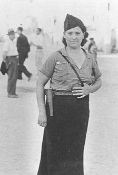 Spain - 1936-39. - GC - milicianas