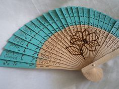 Each of the fans can be customized. :D   maracasartanddesign.com