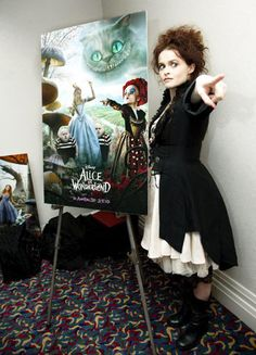 Helena Bonham Carter-I love her and all of her craziness!