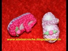 HOW TO MAKE BABY BOOTIES AS A SOUVENIR FOR BABY SHOWER - YouTube