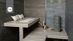 sauna / www.k-rauta. Saunas, Sauna Shower, Finnish Sauna, Spa Rooms, Sauna Room, Home Spa, Comfort Zone, Outdoor Furniture, Trendy Tree