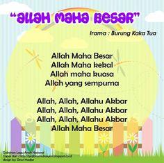 Allah Maha Besar (original song Burung Kaka Tua) Islam For Kids, Anime Muslim, Original Song, Kids Songs, Allah, Activities For Kids, Singing, Islamic, Education