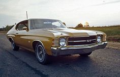 1971 Chevrolet Chevelle Malibu SS 454 Hardtop Coupe