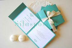 DIY wedding invitation idea!? Acrylic Wedding Invitations, Wedding Invitation Samples, Wedding Cards, Diy Wedding, Fairy Drawings, Baby Christening, Card Making Tutorials, Diy Birthday, Diy Cards