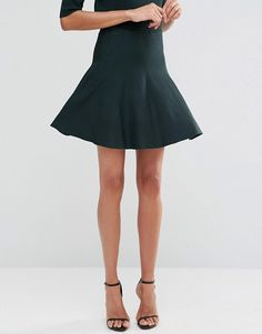 Y.A.S Tall | Y.A.S Tall Romain Pleated Mini Skirt