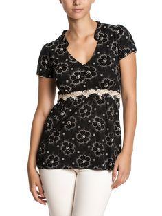 Summer Garden Shirt - black | napo-shop.de