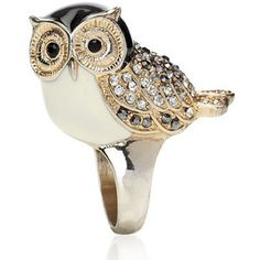 lovely owl ring owl jewelry from monsoon.co.uk