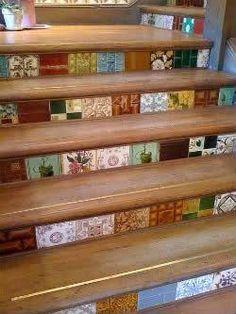 Escalera vintage