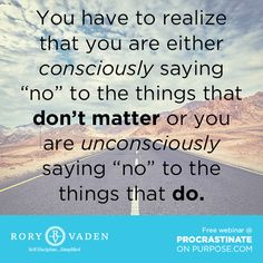 """There's true power in saying, """"no."""" #quote #discipline #motivation #inspiration #productivity #success #decision #POPbk #roryvaden"""