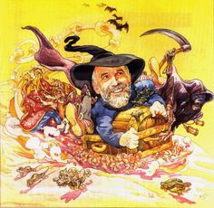 By Josh Kirby.  Nice to see Terry joining in on the fun.