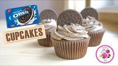 Шоколадные капкейки с Орео/Капкейки шоколадные Oreo Cupcakes, Desserts, Youtube, Food, Tailgate Desserts, Deserts, Essen, Postres, Meals