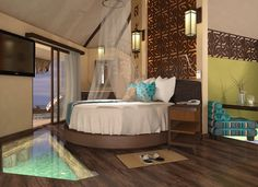 Courtesy of Karisma Hotels & Resorts ~ Elevate your Romance. Over water…