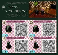 Animal Crossing: New Leaf: ULTIMATE HARRY POTTER OUTFITS- Animal Crossing: New Leaf QR Codes