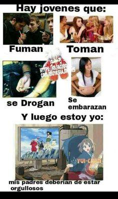 memes in spanish chistes Anime Meme, Otaku Anime, Memes Humor, Funny Memes, Inuyasha Memes, Mexican Memes, Diabolik Lovers, Spanish Humor, Fujoshi