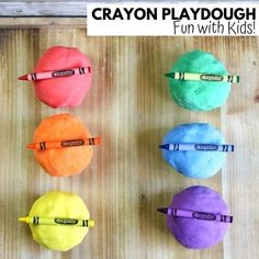 How To Make Crayon Playdough | Little Bins for Little Hands