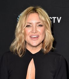 Kate Hudson Short Hair | Winter 2016 | POPSUGAR Beauty