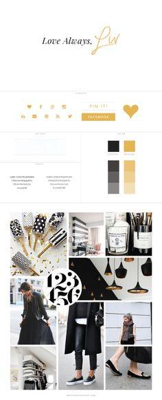 Love Always Liv Blog Design by White Oak Creative, branding, blog design, wordpress blog theme, blog branding