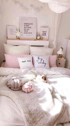 Bedroom Ideas For Teen Girls Tumblr, Room Decor For Teen Girls, Teenage Girl Bedrooms, Bedroom Ideas For Women In Their 20s, Woman Bedroom, Girls Bedroom, Master Bedroom, Diy Home Decor Bedroom, Bedroom Furniture