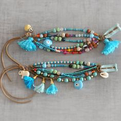 Boho Hippie Bohemian Gypsy klosje Beaded door stellacreations