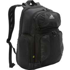 adidas Climacool Strength Pack Backpack ( 42) ❤ liked on Polyvore featuring  bags, backpacks, black, school   day hiking backpacks, black backpack, ... 597cc6b3cb