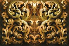 Renkdekor Baroque Pattern, 3d Pattern, 3ds Max Tutorials, Plaster Art, Architecture Tattoo, Wood Carving Art, Art Carved, Gravure, Woodcarving