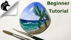 Rock Painting Tutorial For Beginners Beach