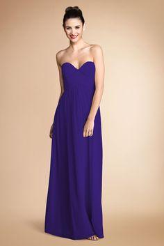 Bridemaids dress by Donna Morgan  - Laura - Flat Silk Chiffon