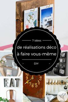 7 idées d'objets de décoration à réaliser vous-même DIY