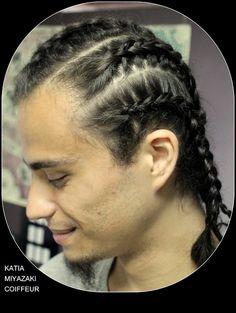Katia Miyazaki Coiffeur - Salão de Beleza em Floripa: trança raiz -  cabelo masculino - Salão de beleza ...