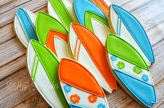 Lizy B: Surfboard Cookies!