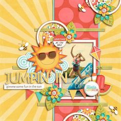 Jumpin' In - Scrapbook.com