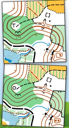 Spot 11 differences from https://www.britishorienteering.org.uk/images/uploaded/downloads/marketing_ozone_spring10.pdf