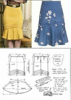 Amazing Sewing Patterns Clone Your Clothes Ideas. Enchanting Sewing Patterns Clone Your Clothes Ideas. Skirt Patterns Sewing, Clothing Patterns, Diy Clothing, Sewing Clothes, Fashion Sewing, Diy Fashion, Diy Kleidung, Vetement Fashion, African Fashion Dresses