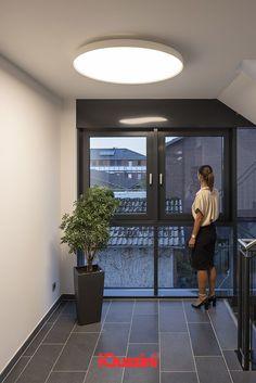 Floating lighting comfort with Isola at the Brock Müller Ziegenbein Rechtsanwälte office in Wilhelmshaven. - Interior architect: Imke Stüven Innenarchitektin 📷 @ossipvanduivenbode Office Lighting, Interior Lighting, Floating, Visual Comfort, Offices, Light Up, Innovation, Home Decor, Home Architect