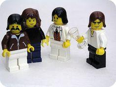 Chez Beeper Bebe: Musical Lego Minifigures