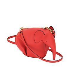 Loewe Animals - ELEPHANT MINIBAG red