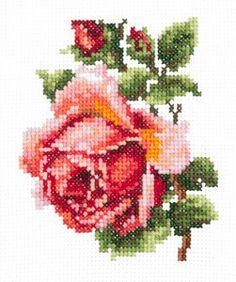 Набор Чудесная игла 28-08 Розочка 18х12 см
