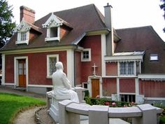 The home of St. Therese and her family in Lisieux, France.
