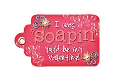 Free Printable tag for Scentsy Foam Soap for Valentine Teacher Gifts