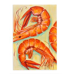 Bellamy's Shrimp. Love the range of orange colors