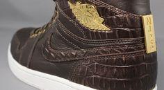7aa2ac623d79 Jordan Brand Tries Crocodile Skin on Air Jordan 1s Jordan 1
