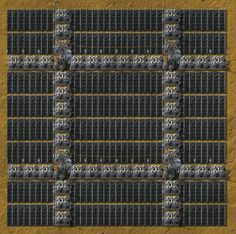 Large Solar Accumulator Array