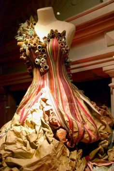 Anthropologie Can Fashion a Paper Dress Like Nobody's Business - Racked NY