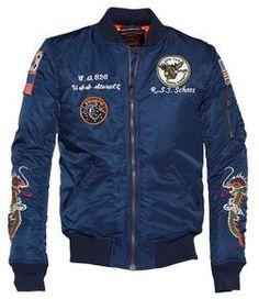 9629 - мужская нейлоновая куртка с пятнами