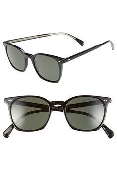 92c75840fe5f Oliver Peoples  L.A. Coen Sun  49mm Retro Sunglasses