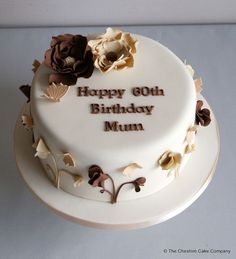 60th Birthday Cake Ideas For Mom Picture in Birthday Cake
