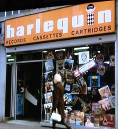 Harlequin Record Shop ~ London, England 1975